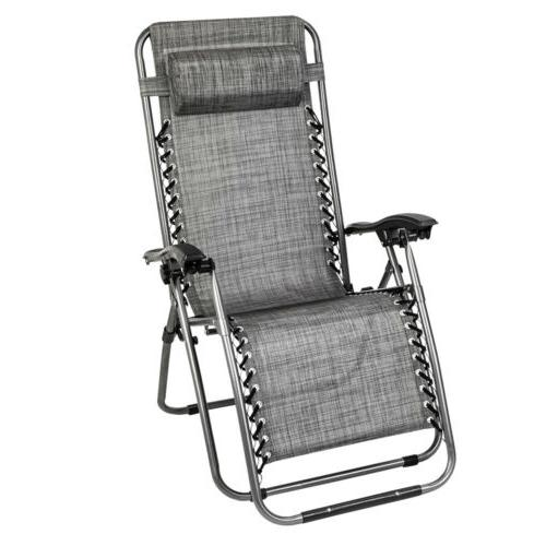 Beach Chair Adjustable Lounge with Table