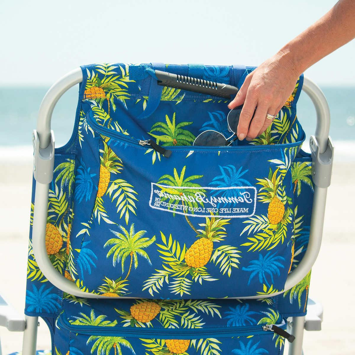 Tommy Bahama Beach 2020 Blue with Pineapple Print NEW!