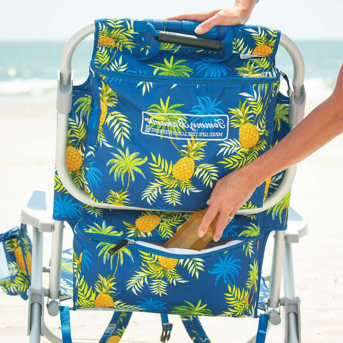 5 position beach chair 2020 blue