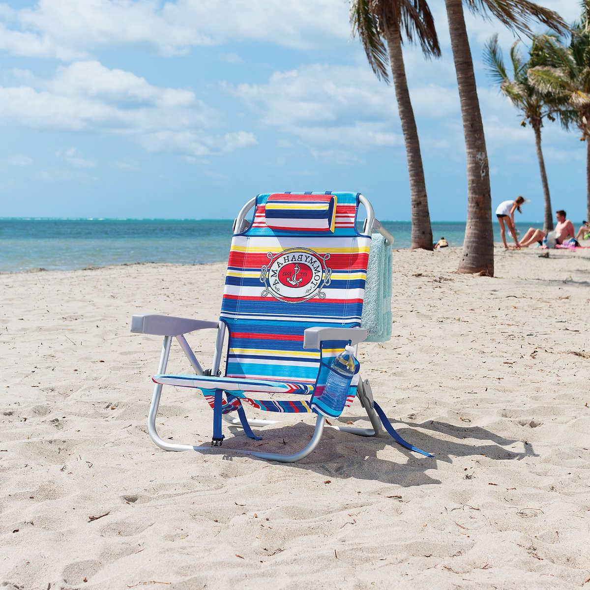 Tommy Bahama Backpack Beach Chair, Multi 5 Positions Capacit