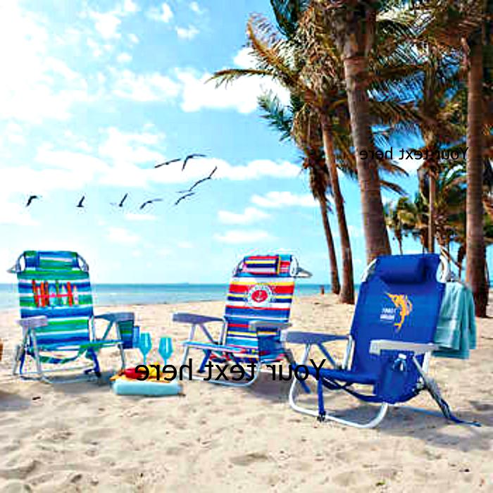 backpack cooler beach chair choose color new