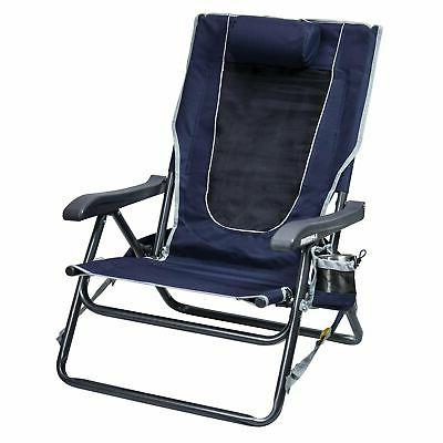 backpack hard arm folding chair