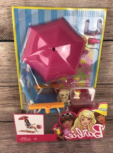 barbie picnic and pet set with beach