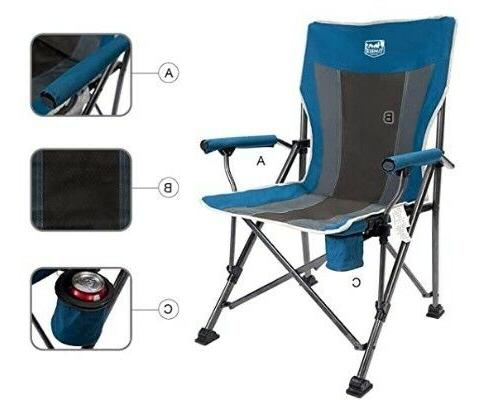 Beach Camping Chair By Timber Ridge Blue Color Case
