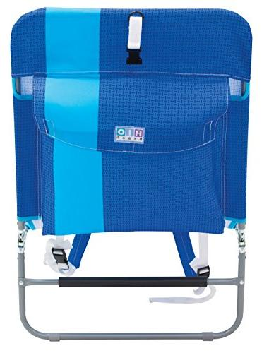Rio Backpack Beach Chair with Storage Pouch