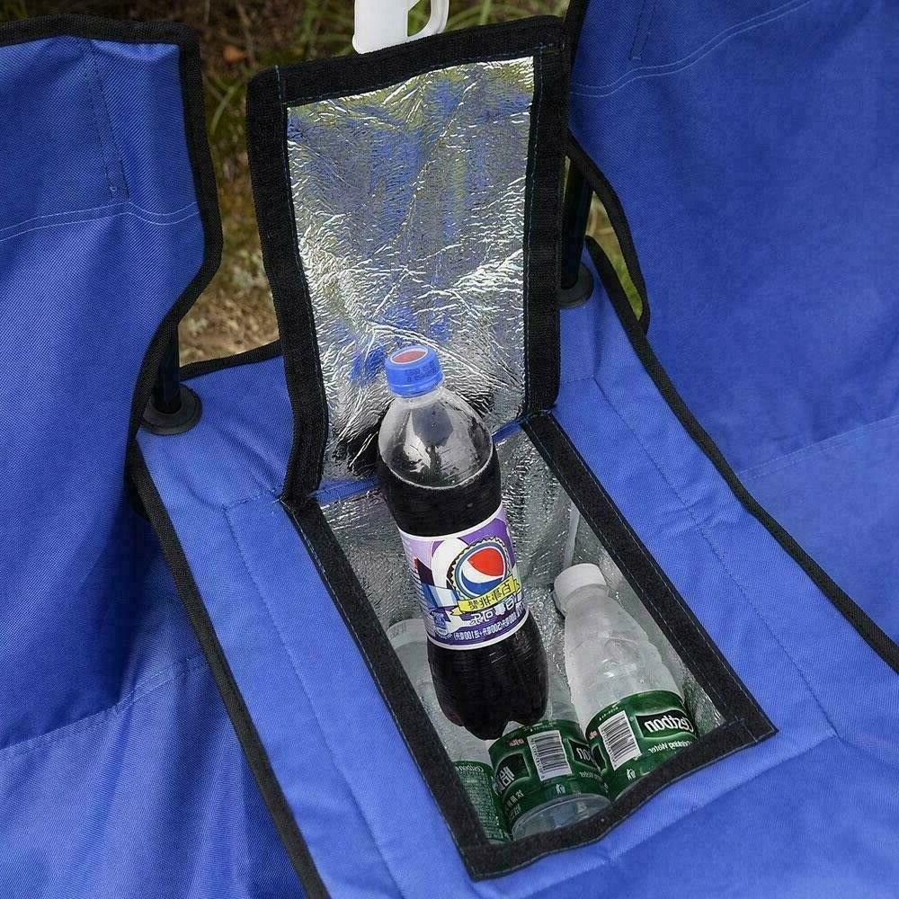 Camping Set Double Table with Cooler Picnic