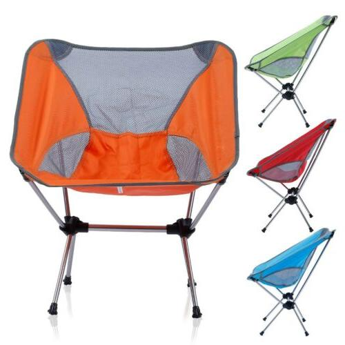 Camping Chair Beach Chairs Collapsible Lightweight Portable Foldable