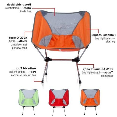 Camping Folding Chairs Collapsible Lightweight Foldable