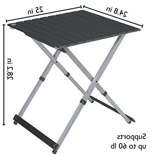 Camping Table, 25-Inch