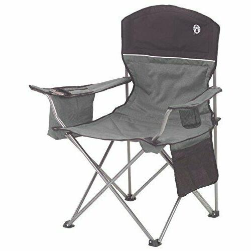 cooler quad chair gray