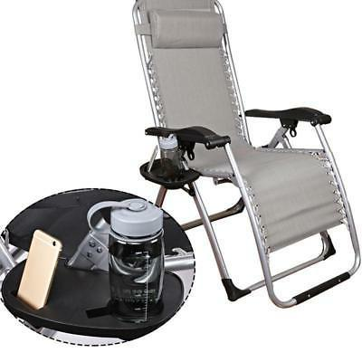 cup holder zero gravity lounge patio chair