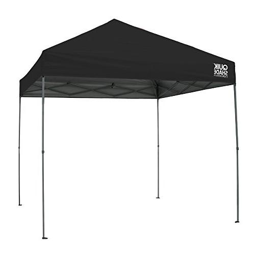 Quik Shade Straight 100 Square Shade for 8-12 - Black