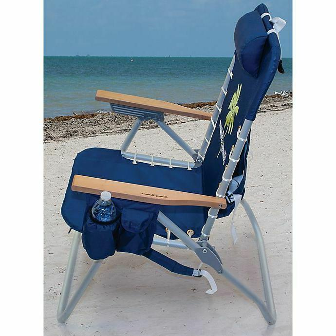 Tommy Bahama® Folding Backpack Beach Chair Cup Holder