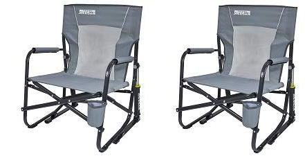 firepit rocker portable folding rocking
