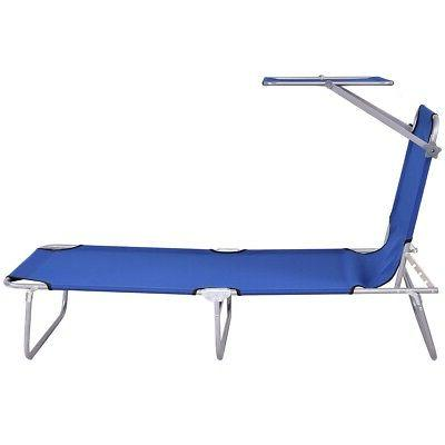 Foldable Relax Lounge Chair Bed Camping Recliner