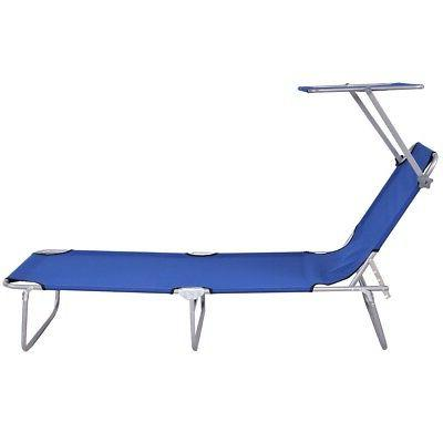 Foldable Outdoor Lounge Beach Chair Camping