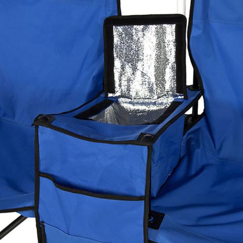 Foldable Double Chair+Umbrella Cooler Fishing