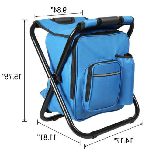 Portable Folding Camping Chair Stool Bag