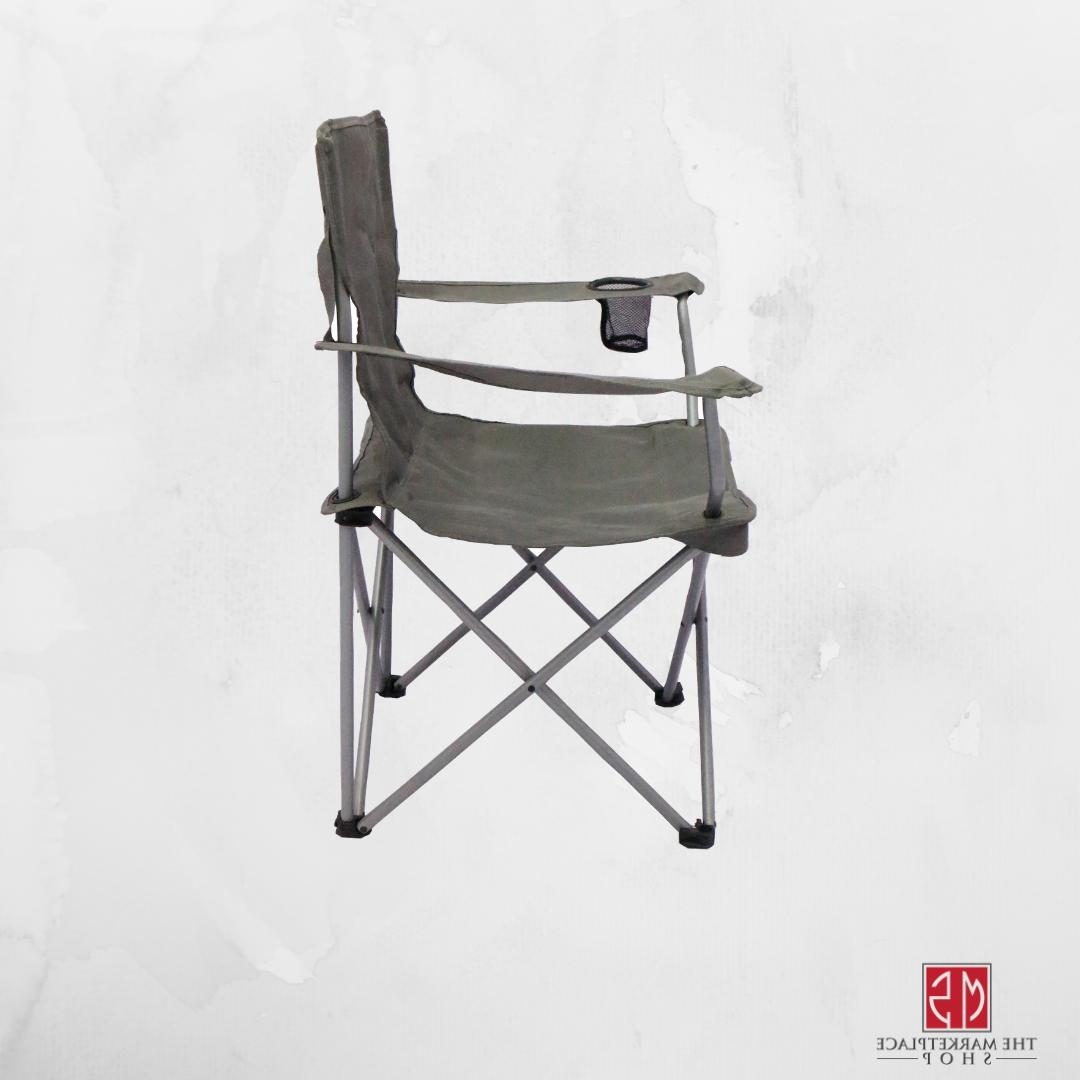 Folding Camping SET OF 4 Outdoor Chairs Holder Beach