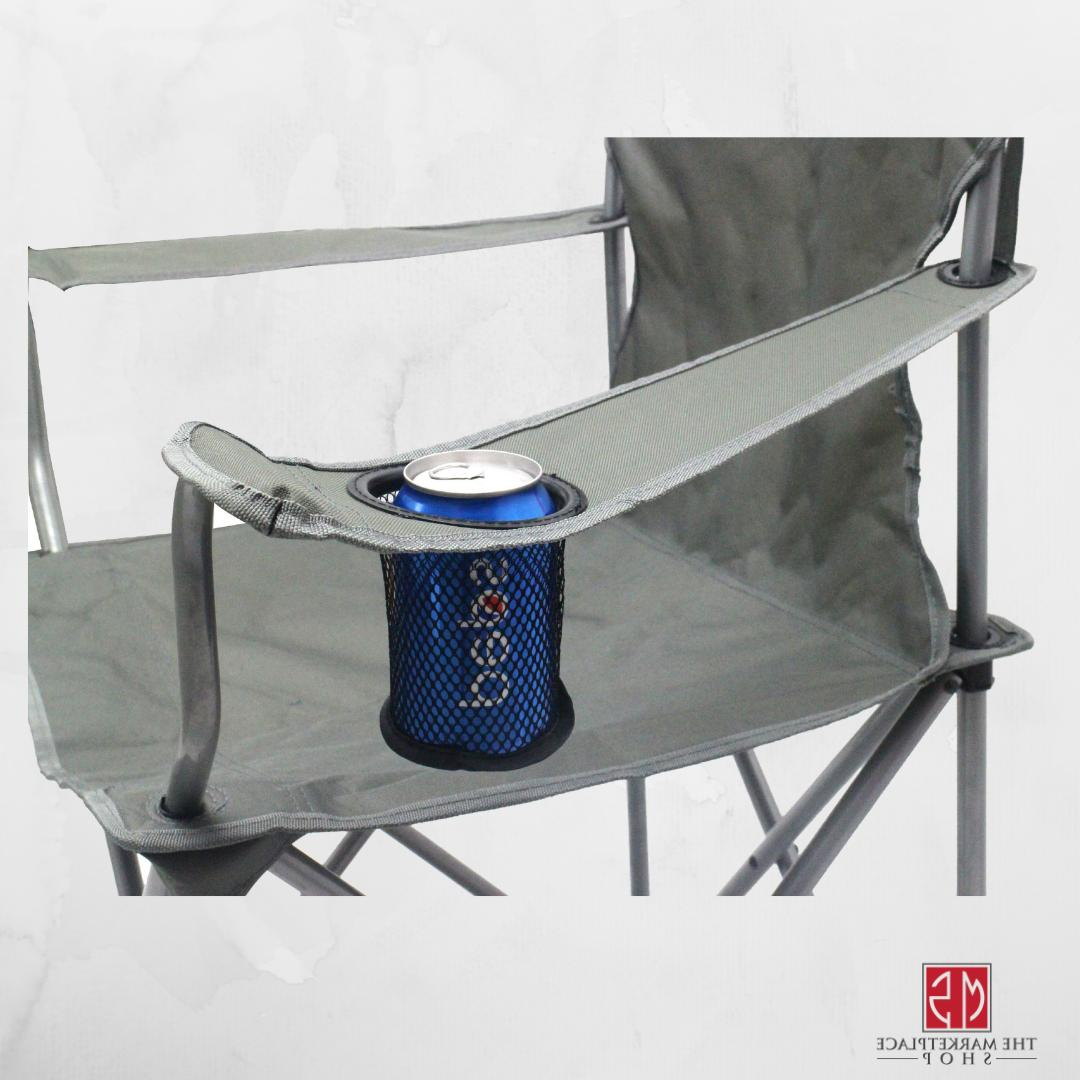 Folding Camping OF 4 Chairs Holder Beach