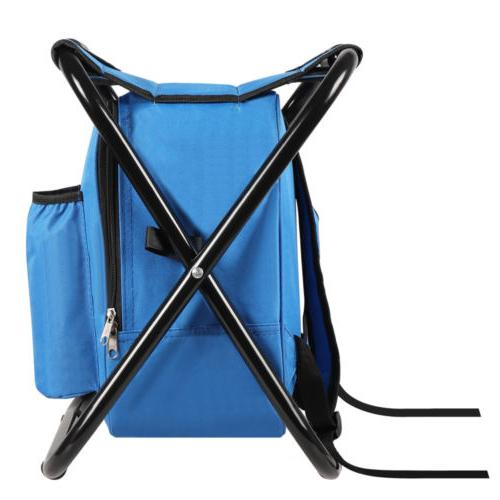 Folding Insulated Bag Backpack Fishing Hiking