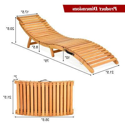 Folding Outdoor Chair Chaise Pad