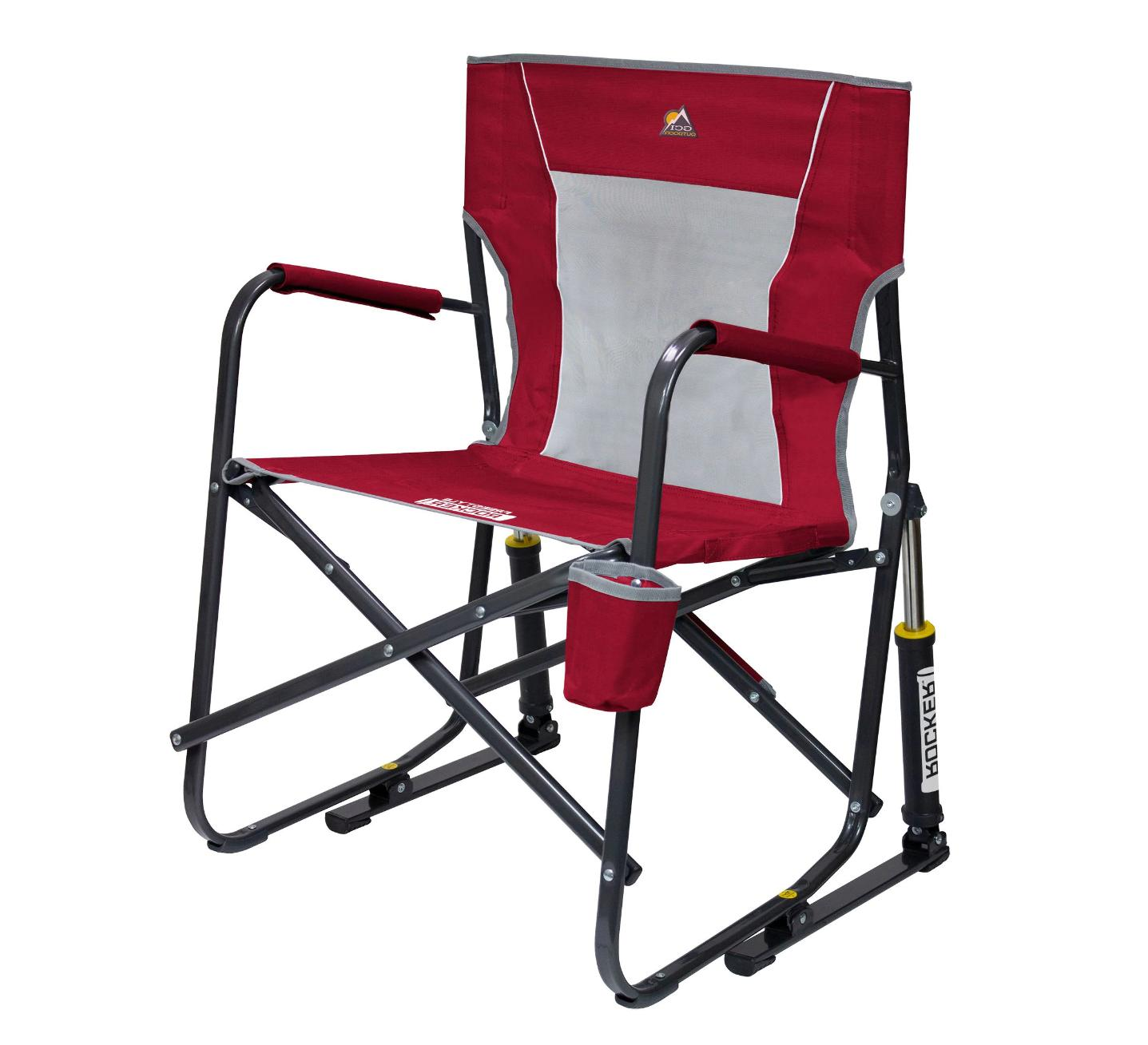 GCI Outdoor Freestyle Rocker Portable Folding Rocking Camping Lawn