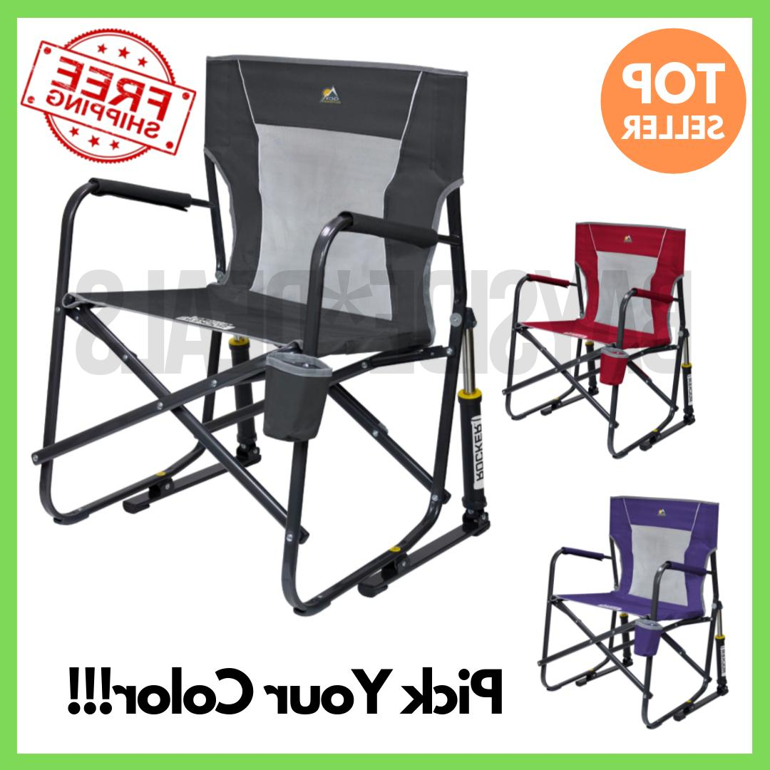 freestyle rocker portable folding rocking chair camping