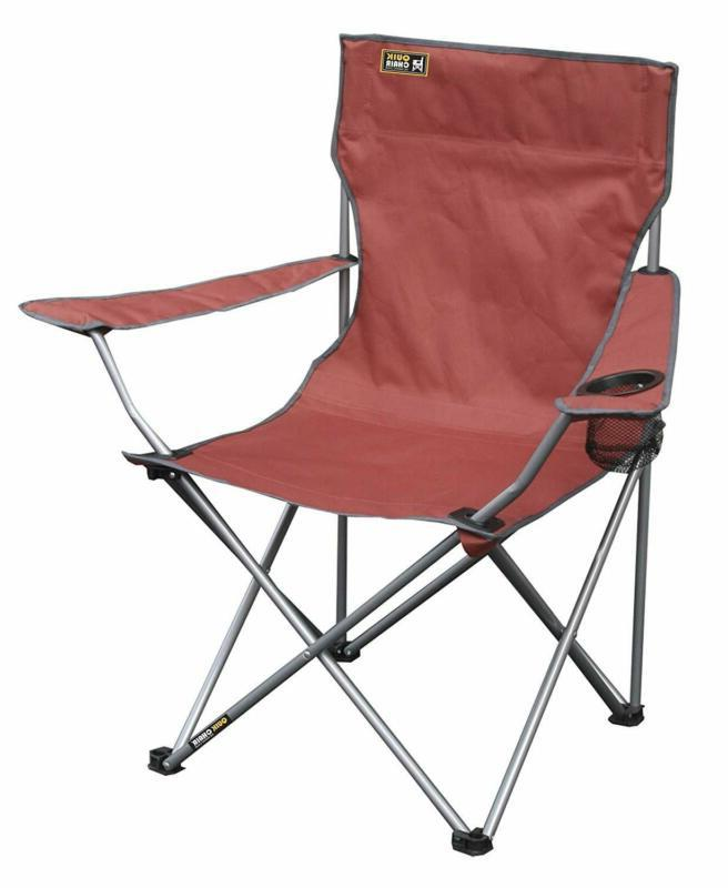 heavy duty portable folding camping chair outdoor