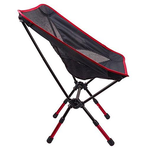 Suyi Hi Portable Picnic Fishing Camping Chair Stool Chairs,Durable 600D Thicken Cloth,Sturdy Aluminum Alloy Carry Bag