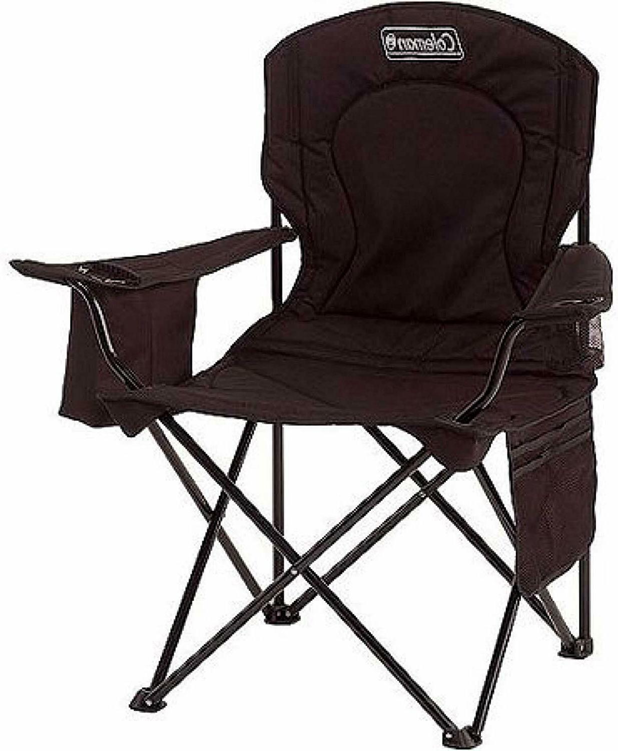 HOT!!! Coleman Quad Chair with 4-Can Cooler