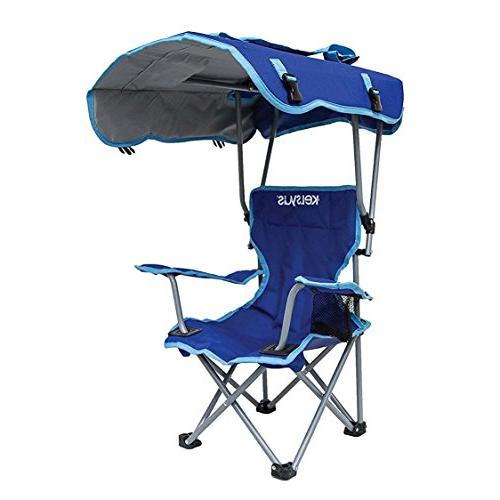 Kelsyus Kids Canopy Folding Backpack Lounge Blue