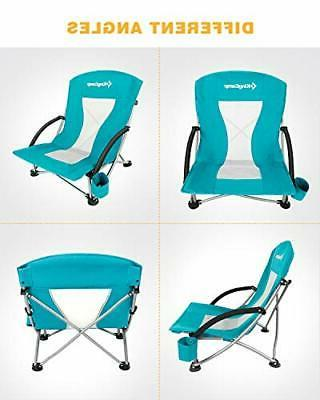 KingCamp Sling Beach Chair for Lawn, Low