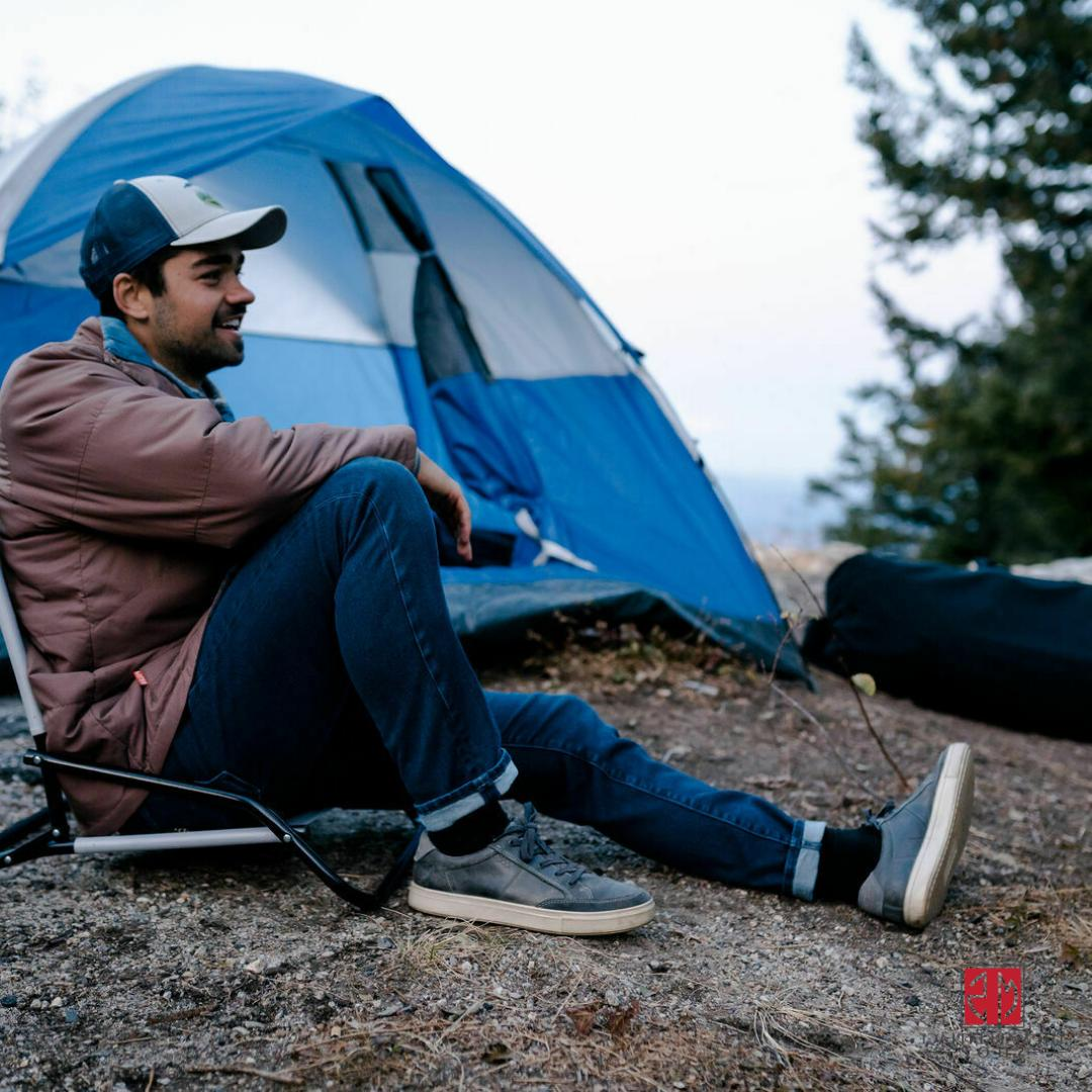 Light Weight Chair Steel Frame Camping Outdoor