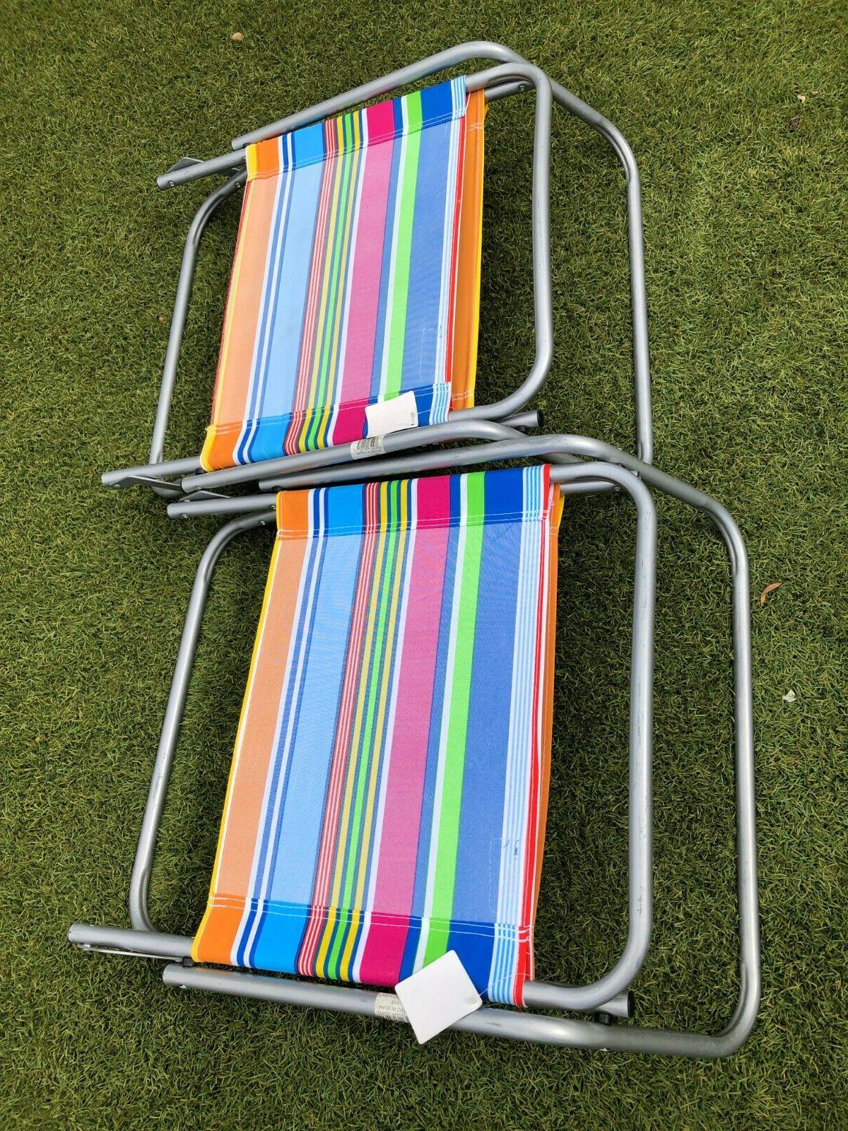 Lot 2 Copa Beach Chair Aluminum Lounge