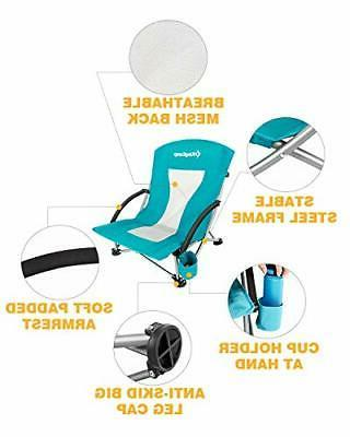 KingCamp Chair for Camping Lawn, Low High