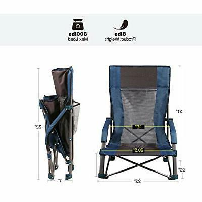 Low Sling Chair, Folding Beach Low Outdoor Ch