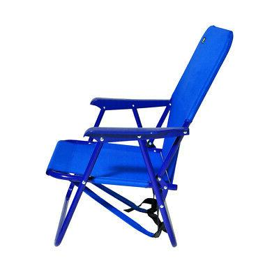 Mid Height Backpack Beach Sports Chair w Pouch