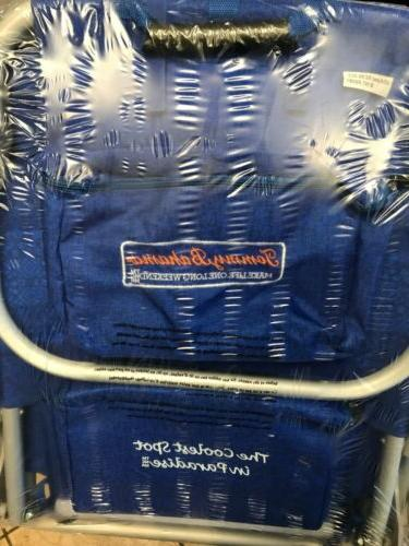 New Bahama Backpack Chair Storage Pouch and Towel Bar