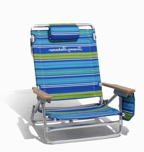 New Single Tommy Bahama beach chair With Backpack And Cooler
