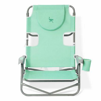 Ostrich On Your Folding Camping Teal