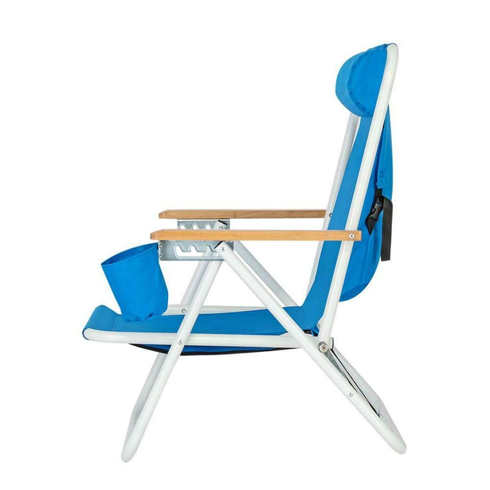 Outdoor Folding Beach Chair Garden Lounge Chair