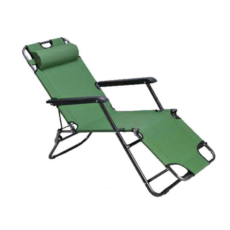 Reclining Beach Sun Patio Lawn Lounger