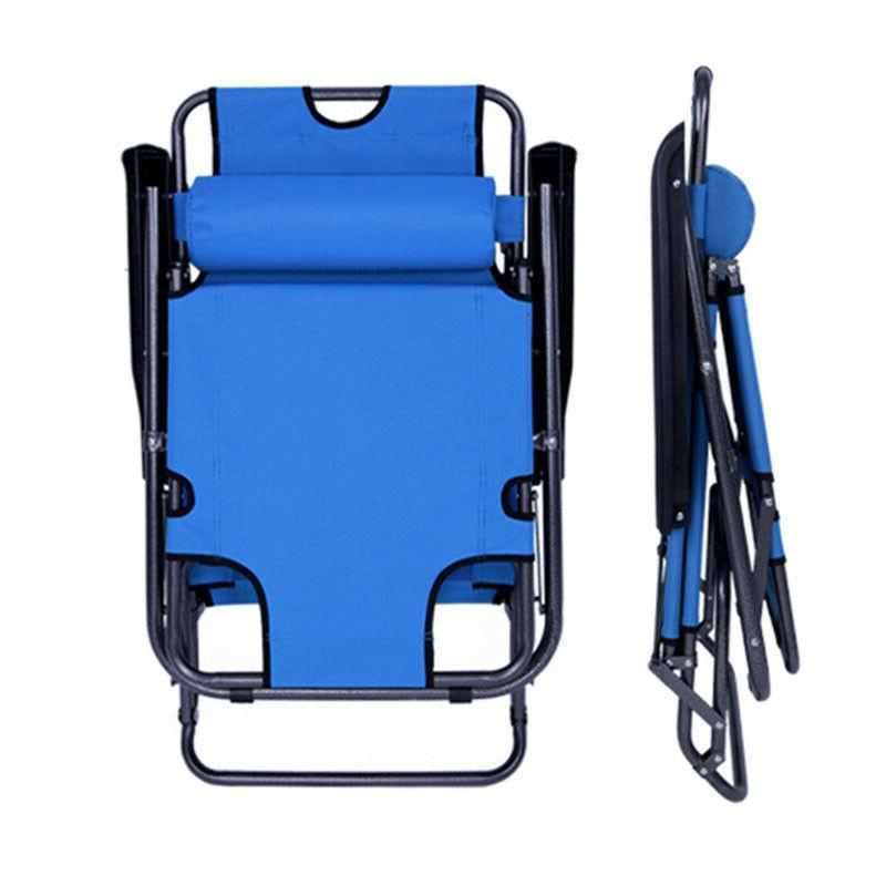 Outdoor Folding Beach Patio Chair Pool Lawn USA Reclining NEW