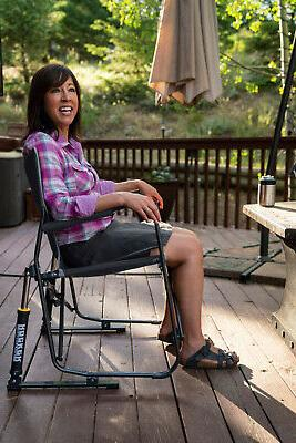 Outdoor Folding Easy Carry Porch Seat