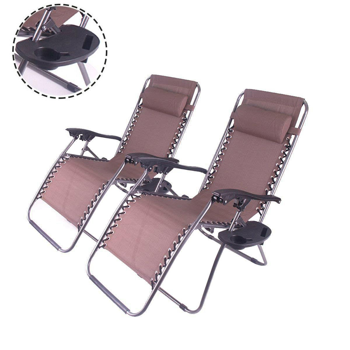 Outdoor Chair Folding 2PC