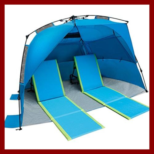 Pacific Lounger Pack BLUE/Green LARGE Outdoor Recreation