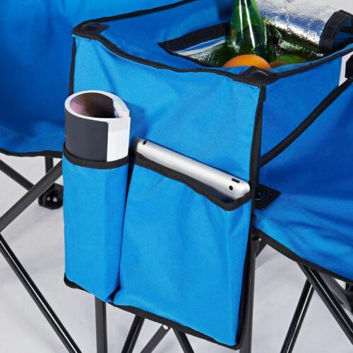 Picnic Folding w/Umbrella Table Fold Up