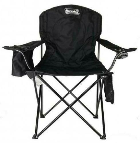 portable camping quad chair with 4 can
