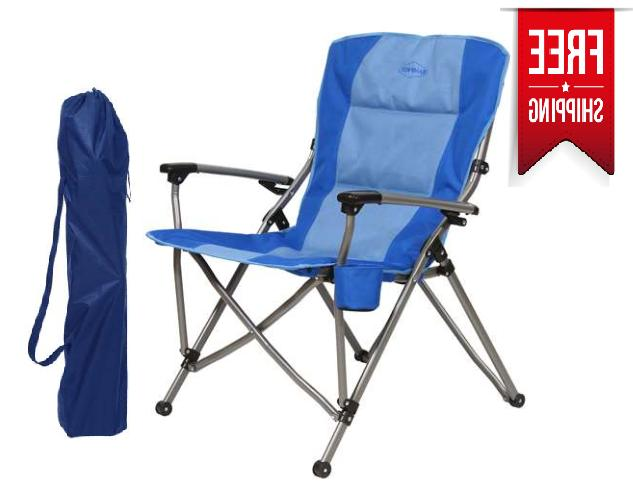 Portable Folding Camping Chair Beach Outdoor Patio Lightweig